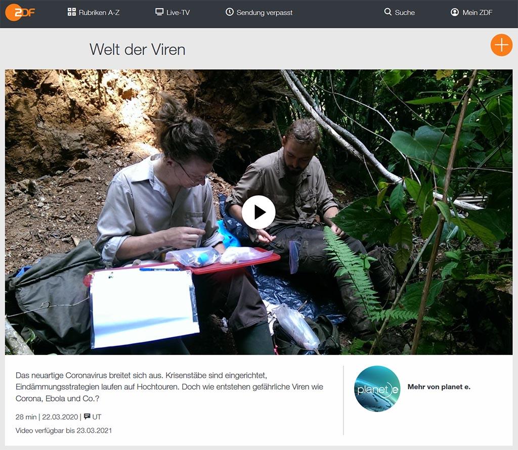 planet.e: Welt der Viren - ZDFmediathek